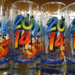 2014 Disney Shot Glasses