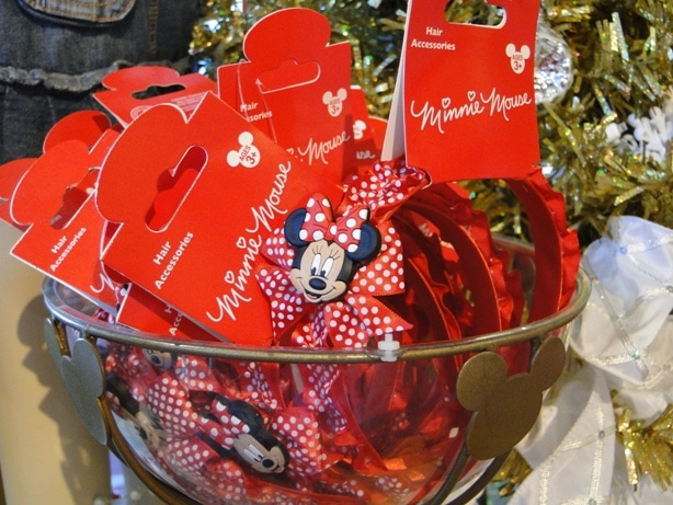 Minnie Mouse Headband with Ribbons