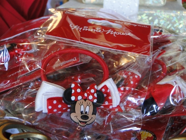 Minnie Mouse Hair Elastic Tie with Ribbons