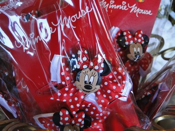 Minnie Mouse Hair Bows with Polka Dot Ribbons