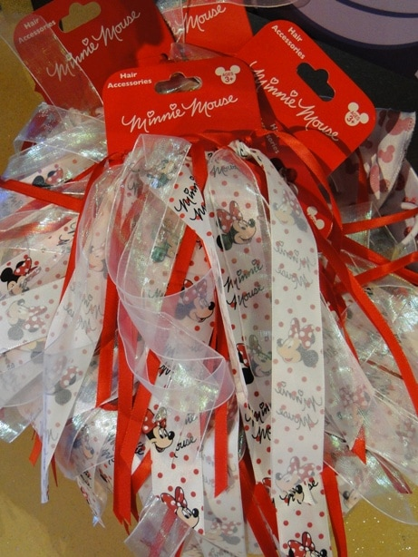 Minnie Mouse Hair Ribbons