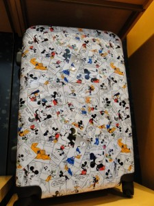 Mickey Mouse Cartoon Suitcase