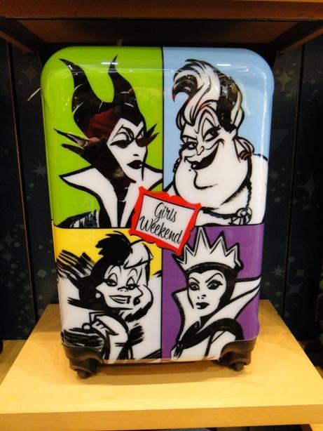 Disney Villains Rolling Suitcase Luggage