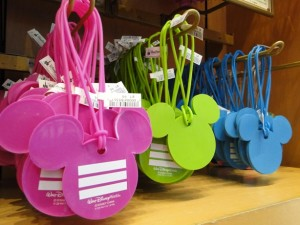Mouse Ear Luggage Tags
