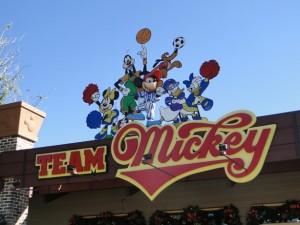 Team Mickey Logo Downtown Disney Orlando