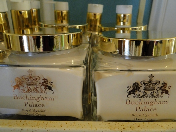 The line of Buckingham Palace cosmetics isn't something you'll see for sale everywhere in the U.S.A.!
