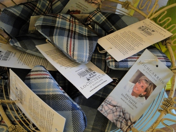 Diana Princess of Wales Tartan Plaid Change Purse
