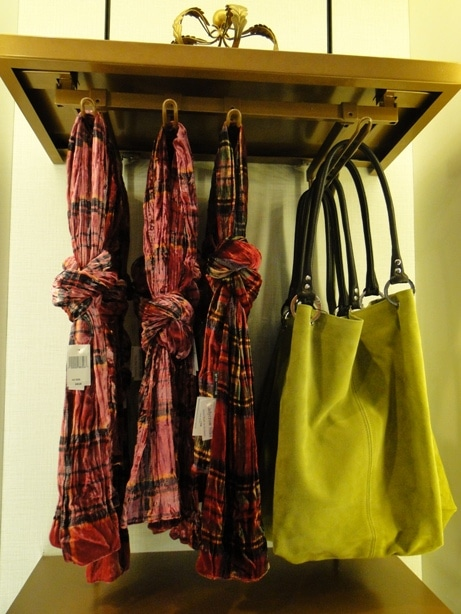 Purses and Scarves