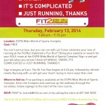 Fit2Run SOLEMate Valentine's 5K at Disney World