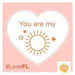 Florida Valentines Day E-Cards From Share a Little Sunshine