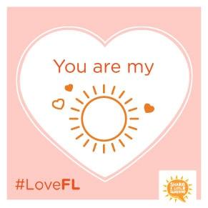 Valentine's Day Florida E-card