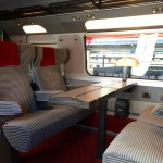 Traveling On the TGV High Speed Train in France