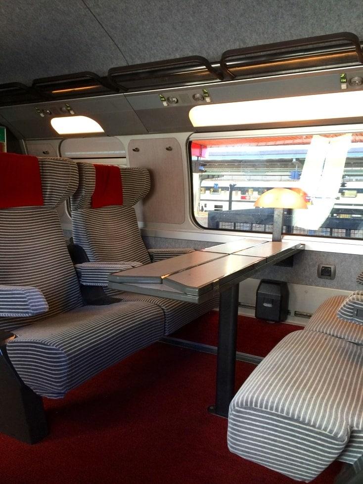 TGV Train Seats