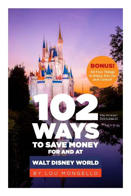 102 Ways to Save Money At Disney