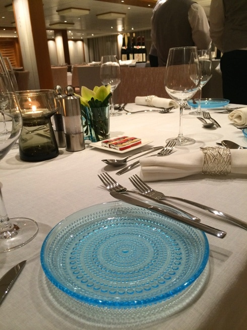 Viking River Cruises Place Setting