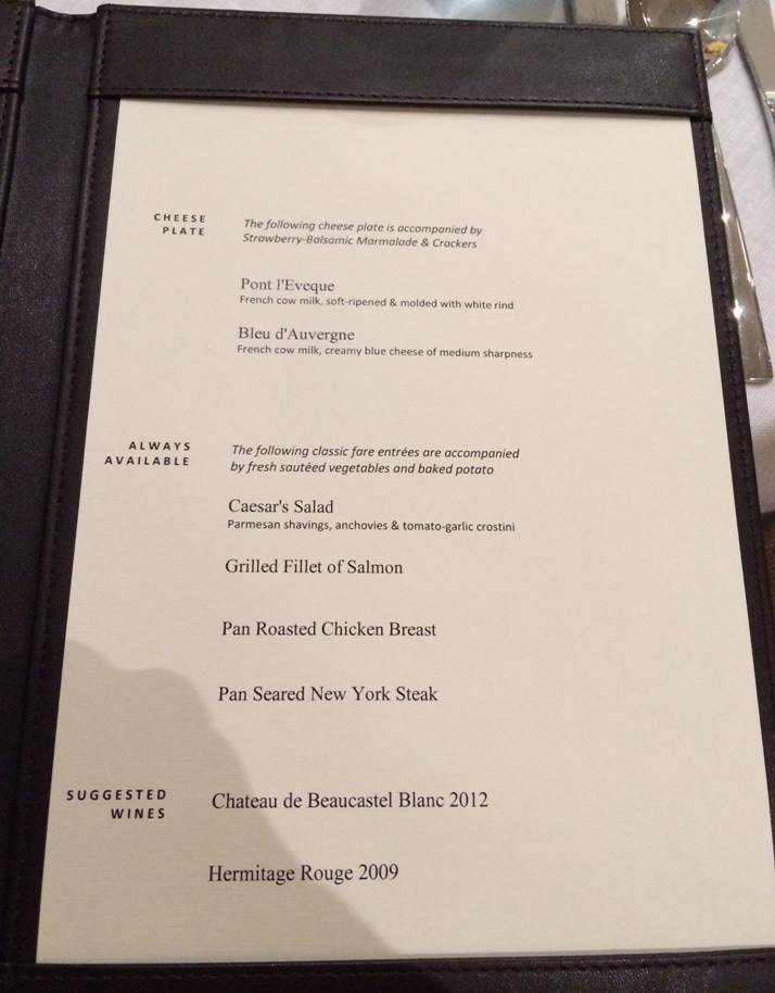 viking dinner menu 2