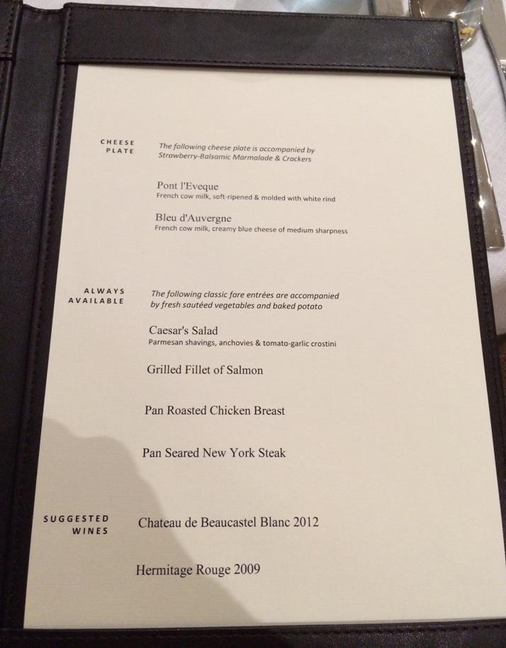 viking dinner menu 2