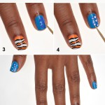 Finding Nemo Disney Manicure DIY