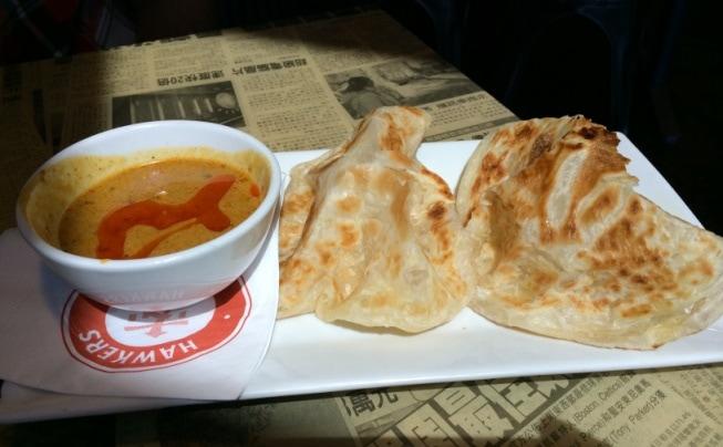 Roti Canai Hawkers Asian Street Fare