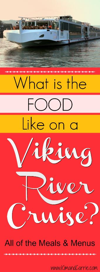 River cruise food - from meals to menus, a look at eating onboard Viking River Cruises. Click through for pics and menus of every single meal.