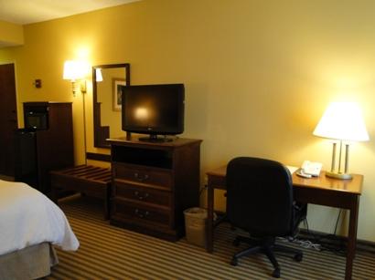 Hampton inn Room desk