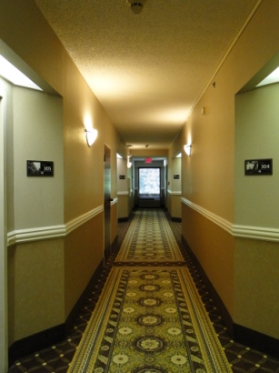 Hampton Inn Morganton Hallway