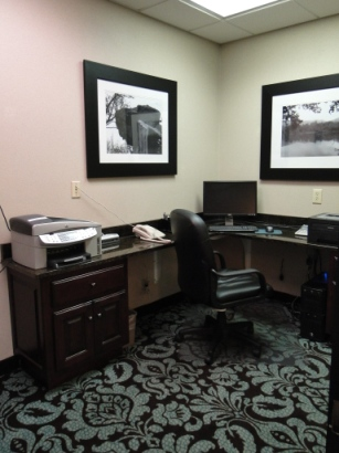 Hampton Inn Morganton Business Center