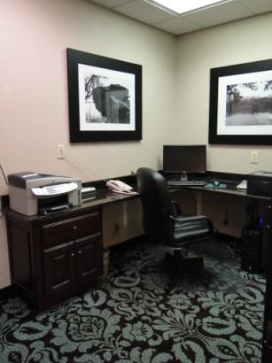 Hampton Inn Morganton Business Center