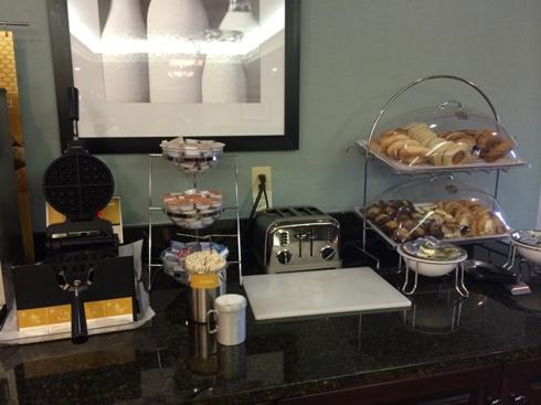 Hampton Inn Breakfast Items