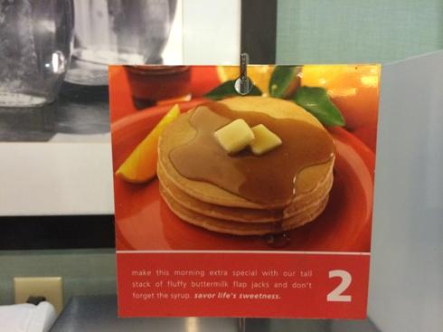 Hampton Inn Pancakes