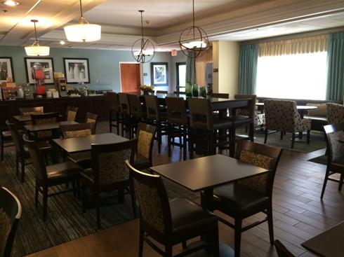 Hampton Inn Morganton Lobby