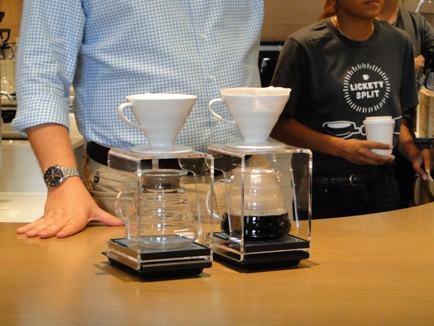 Lickety Split Coffee Pour Method