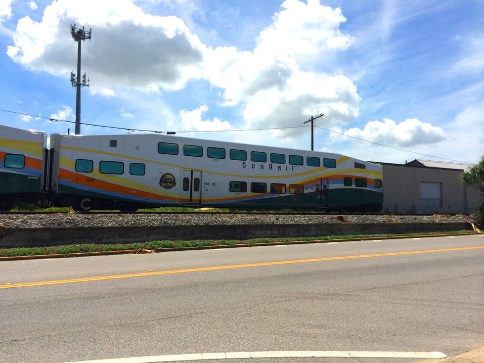 Sunrail in Orlando