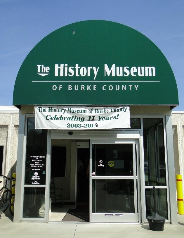history musueum of burke county morganton nc