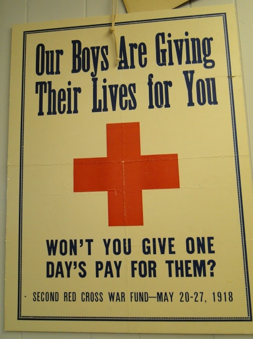 old red cross advertising campaign