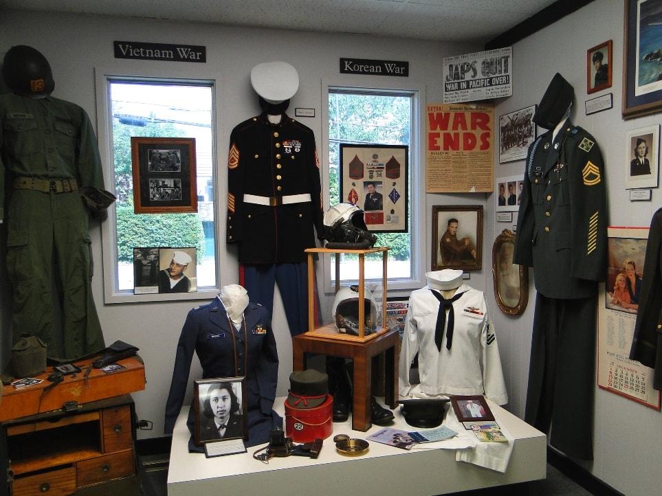 military room burke county