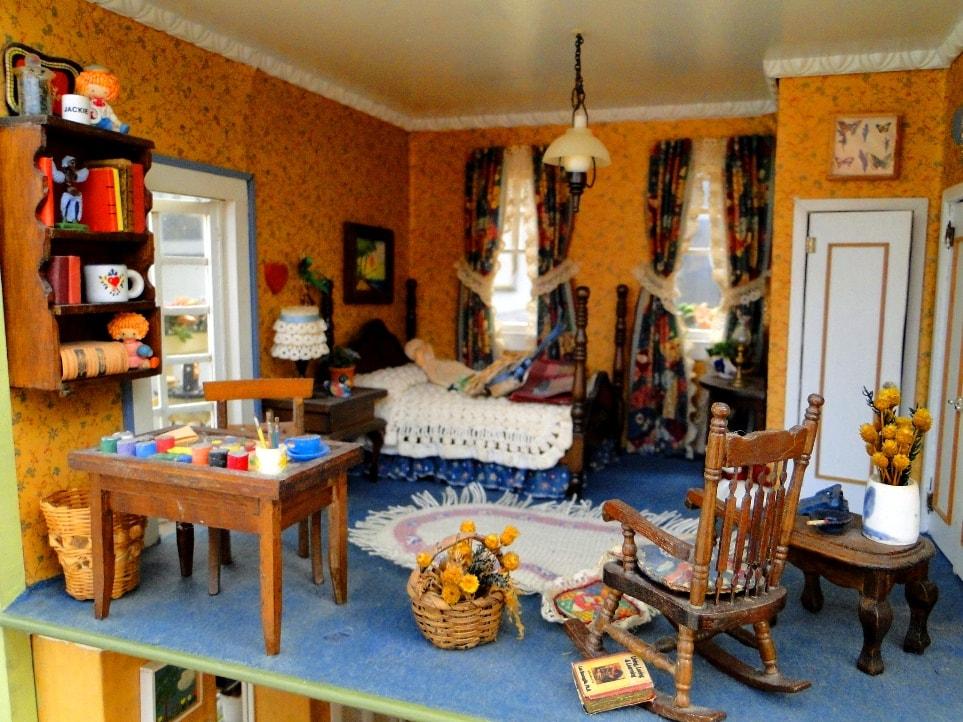 dollhouse furniture living room