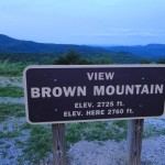 Mysterious Brown Mountain Lights in North Carolina