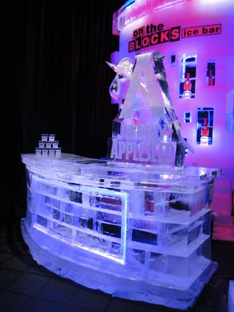 johnny appleseed ice bar luge