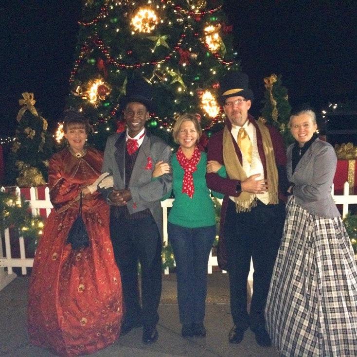 Bringing Old Fashioned Christmas Caroling To Ashview: Celebration, Florida's Now Snowing Event For 2014
