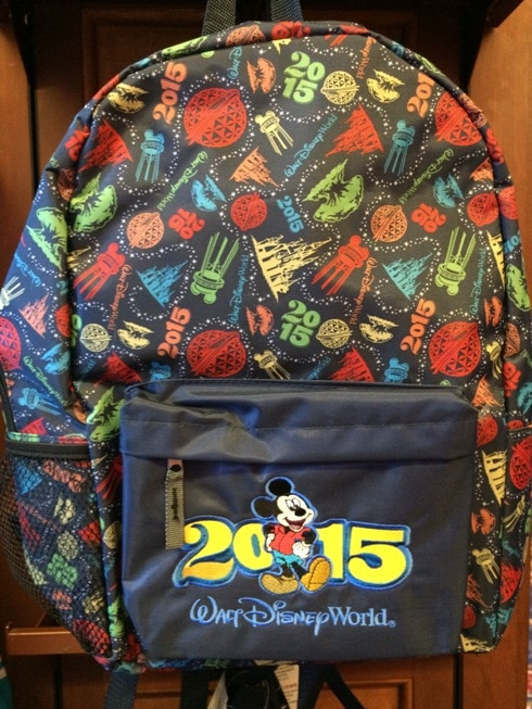 Disney backpack 2015
