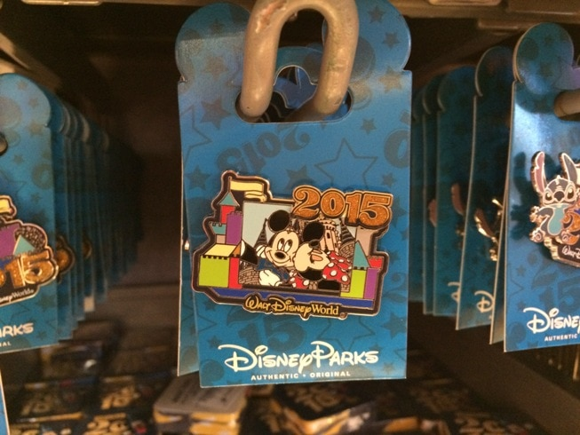 Disney World 2015 pin
