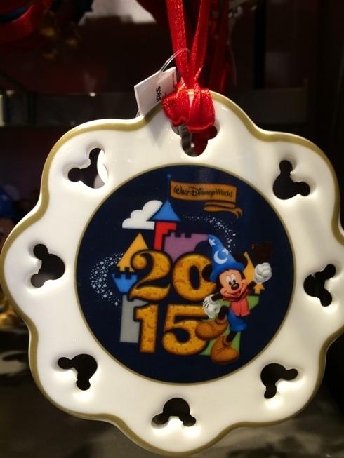 walt disney world 2015 ornament