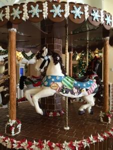 Disney's Beach Club Christmas Decorations