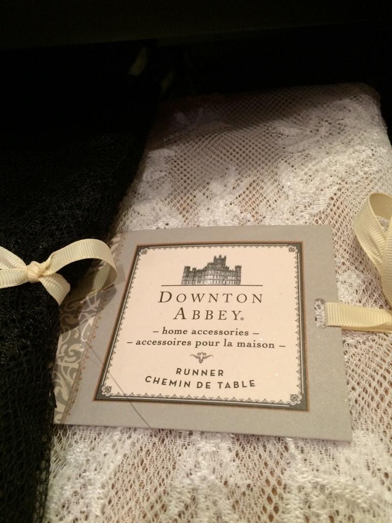 downton abbey merchandise