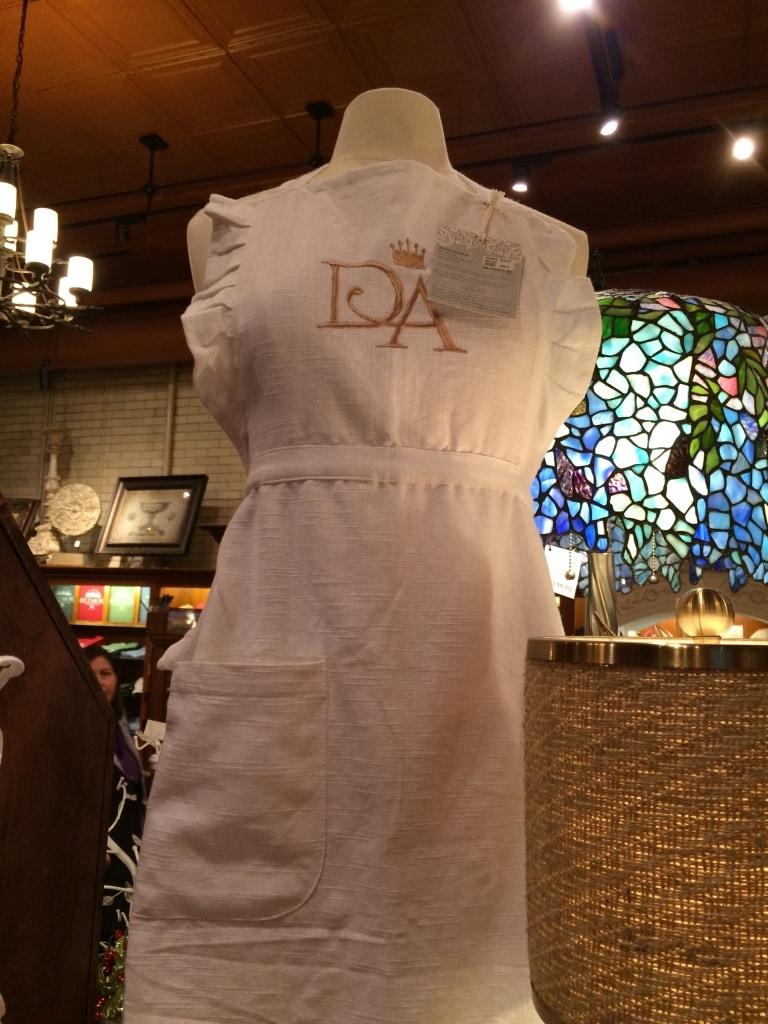 downton abbey kitchen apron