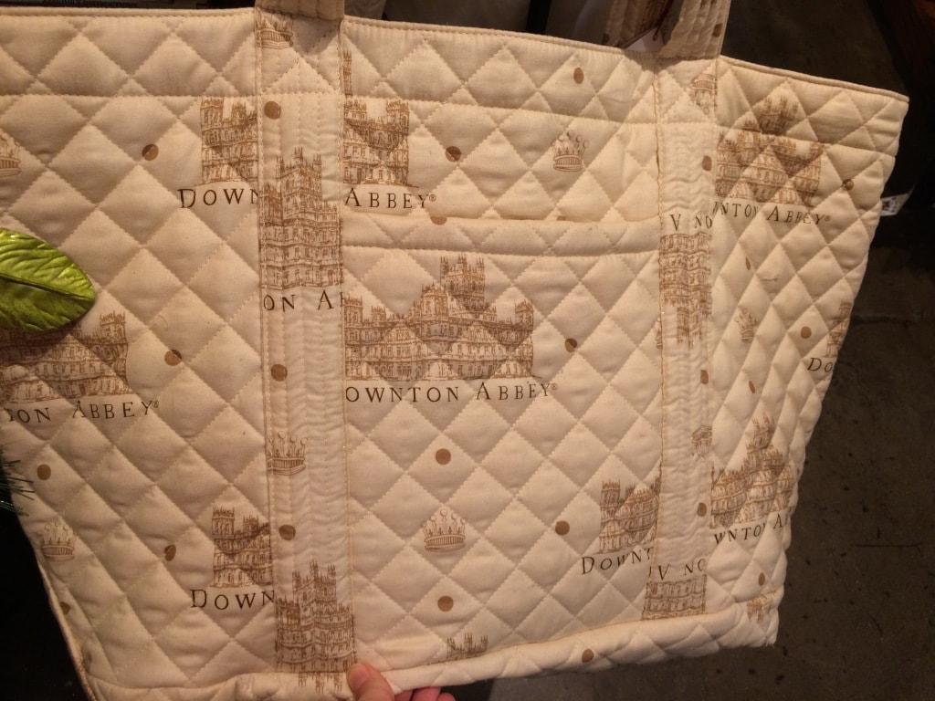 downton abby tote bag