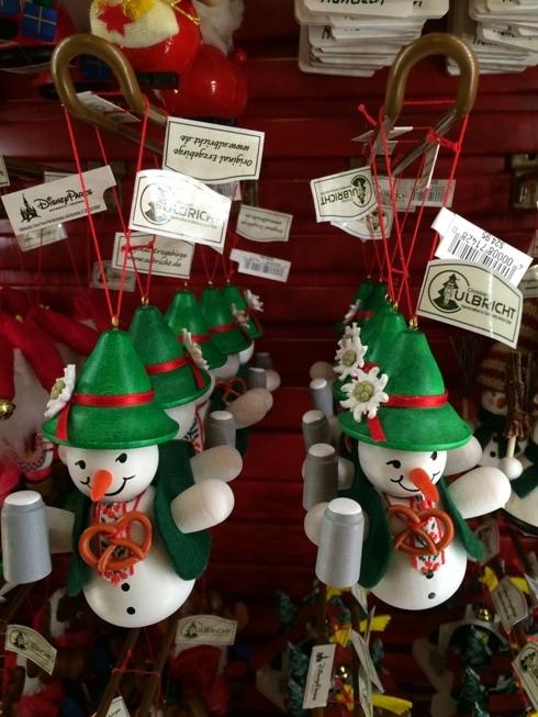 disney germany snowman ornament
