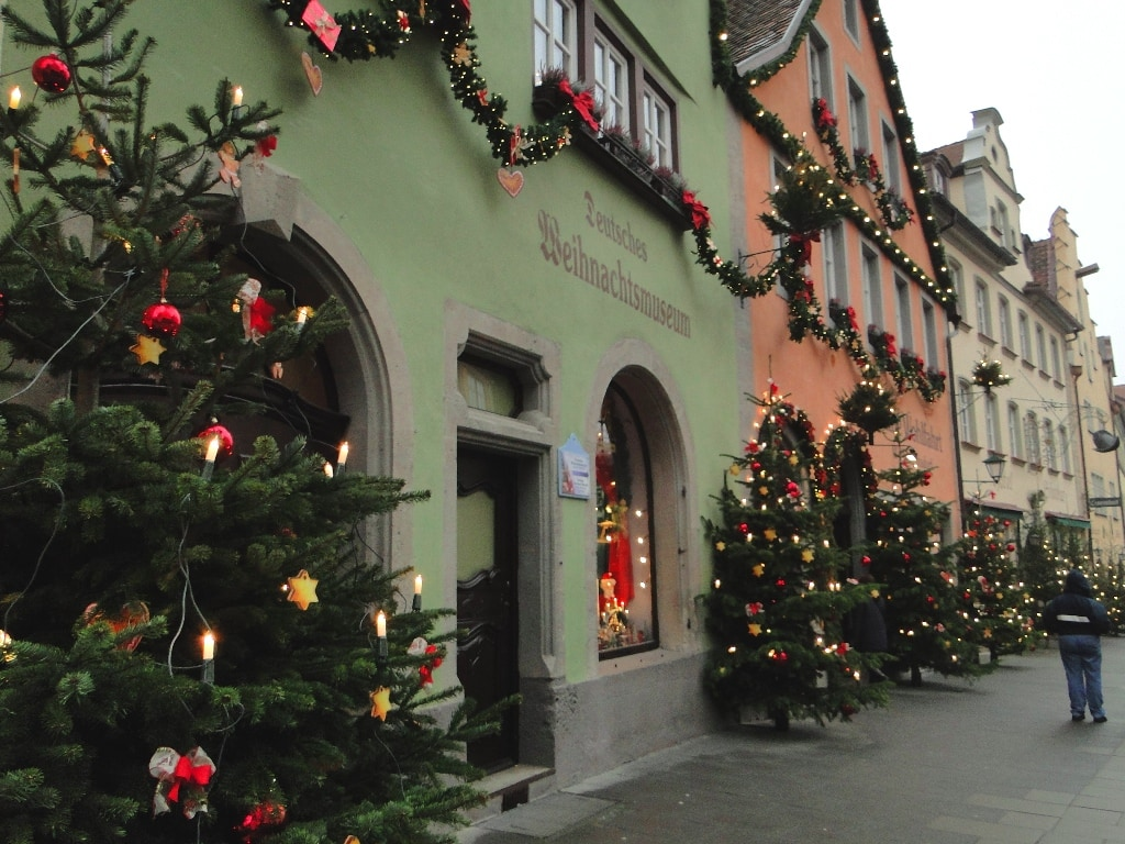 Germany Christmas Trees Decorations