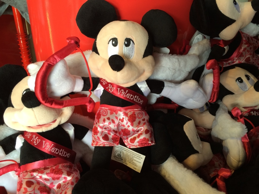 Mickey Mouse Plush Valentines Day Toy Cupid